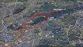 16 明神山のコース 下山は藤井コース 大