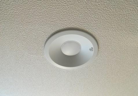 1 洗面所のダウンライト