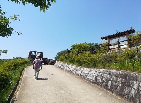 5 明神山の展望デッキ
