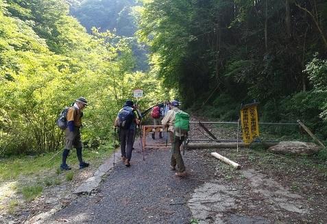 2 登山道