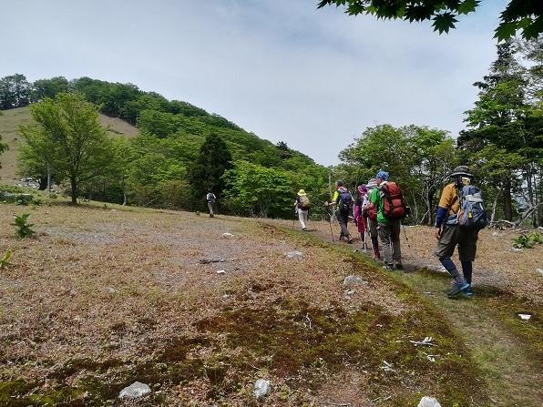 16 前山へ向けて登る