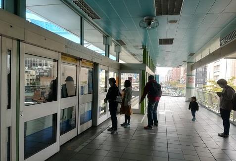 2 MRT文湖線へ乗換え