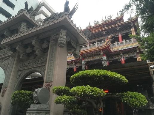 26 ホテルの向かいの寺院 景福宮