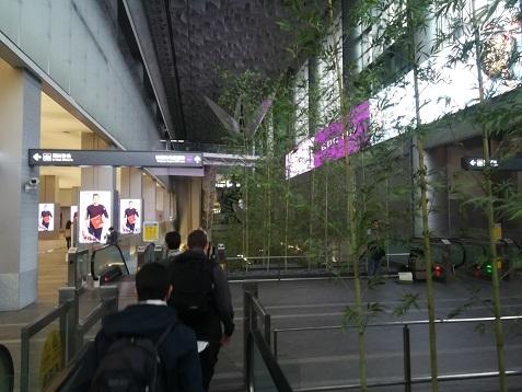 2 台北車站 MRT桃園機場線の新駅へ向かう
