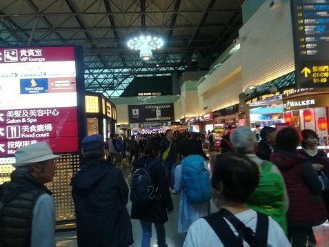 9 桃園国際空港第2ターミナル到着