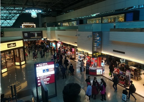10 桃園国際空港第2ターミナル到着