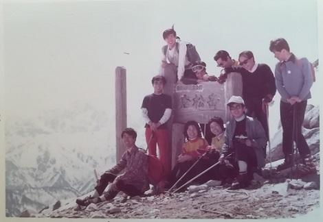 2 スキー 唐松岳 - コピー