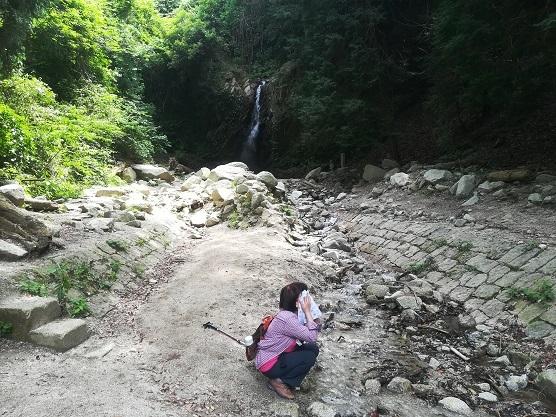 23 櫛羅の滝に到着