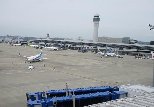 14 ターミナルの北側