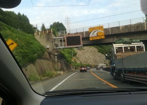 17 名阪国道 魔のカーブの連続