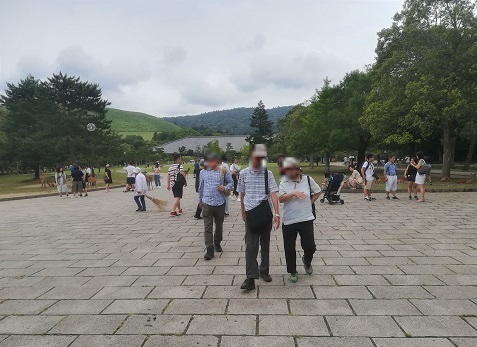 8 奈良公園