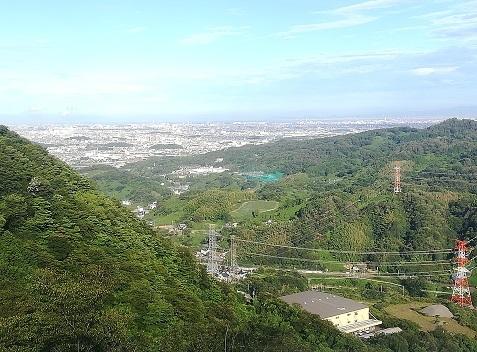 8 大阪方面の景色