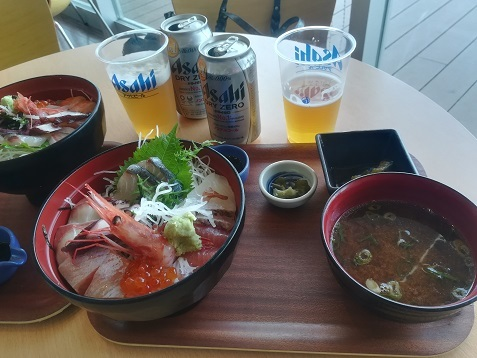17 道の駅の昼食