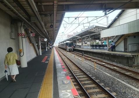 8 和歌山駅へ到着