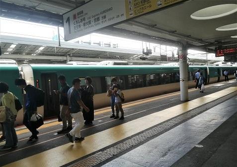 9 和歌山駅へ到着