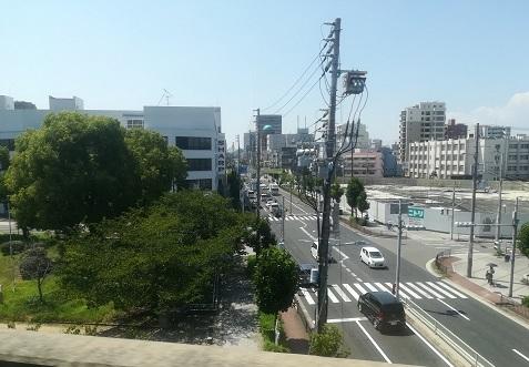 14 大阪市内まで帰って来た