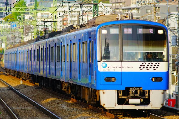 190420 KQ600 Blue Sky Train