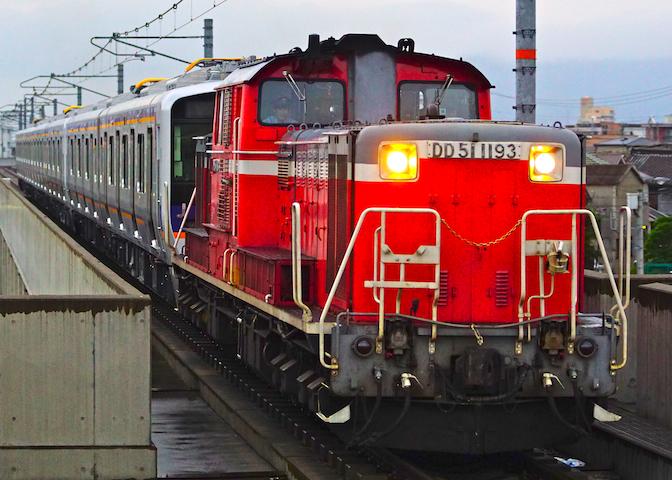 190605 JRF DD51 nankai8500 kiwa1