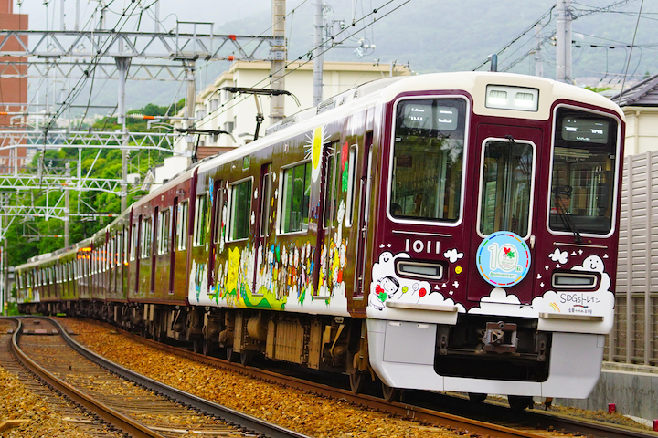 190608 hankyu 1000 SDGS train1