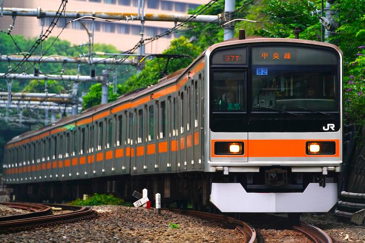 190713 JRE 209 Chuo ochanomizu