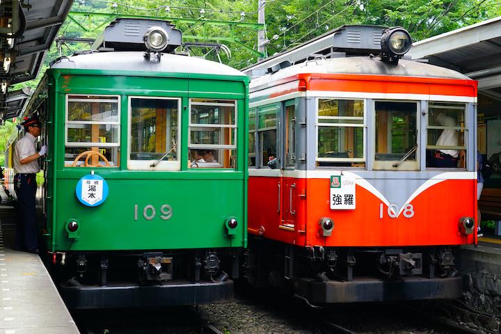 190705 hakonetozan Green Kintaro1