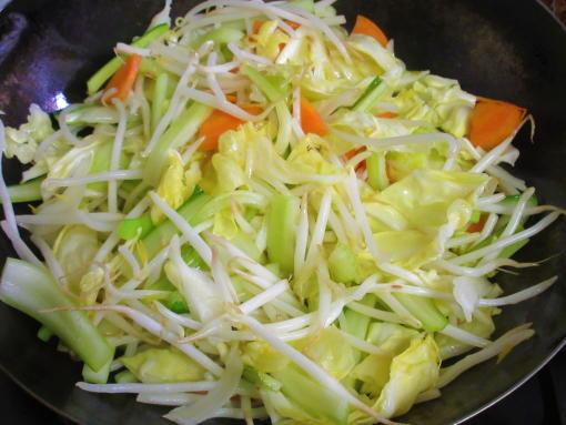 222  野菜炒め(1)