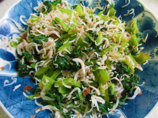231  小松菜のしらすおかか和え(1)