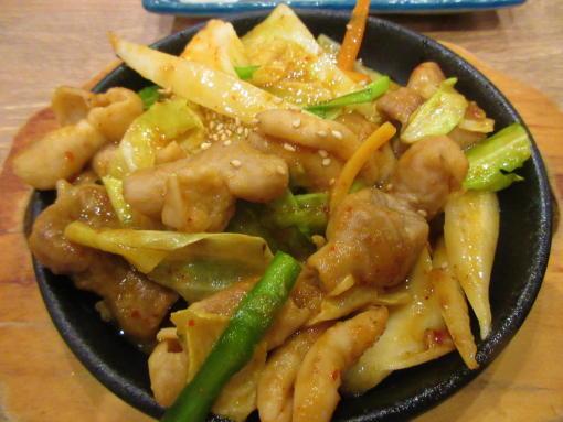 008  ほるもんの味噌炒め(1)