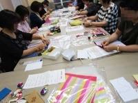 韓国観光公社福岡 コリアプラザ ポジャギとメドゥプ教室