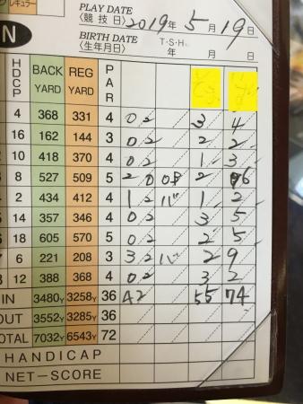 40歳ゴルフコンペ 011