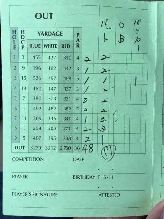 男鹿でゴルフ 028