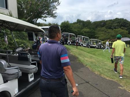 男鹿でゴルフ 020
