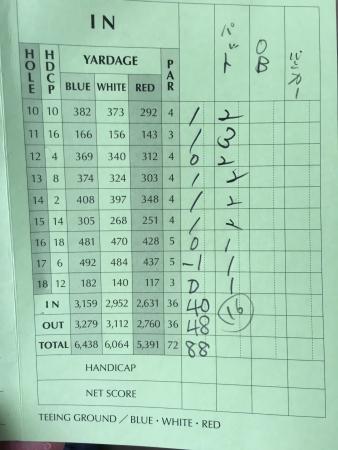 男鹿でゴルフ 029