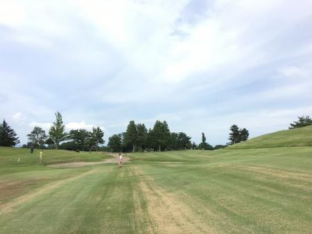 男鹿でゴルフ 021