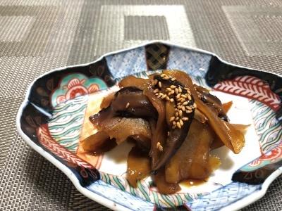 2019-6生姜の佃煮