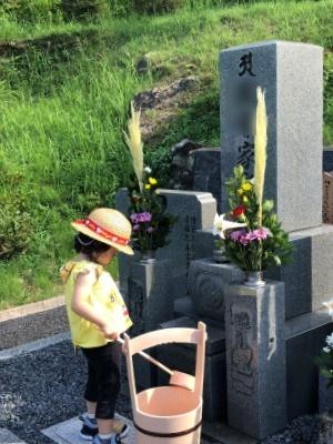 2019-8-13墓参