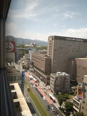 鶴屋と熊本城