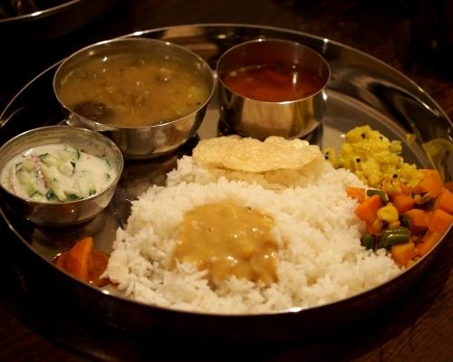 タネヲマク 南インドの野菜定食