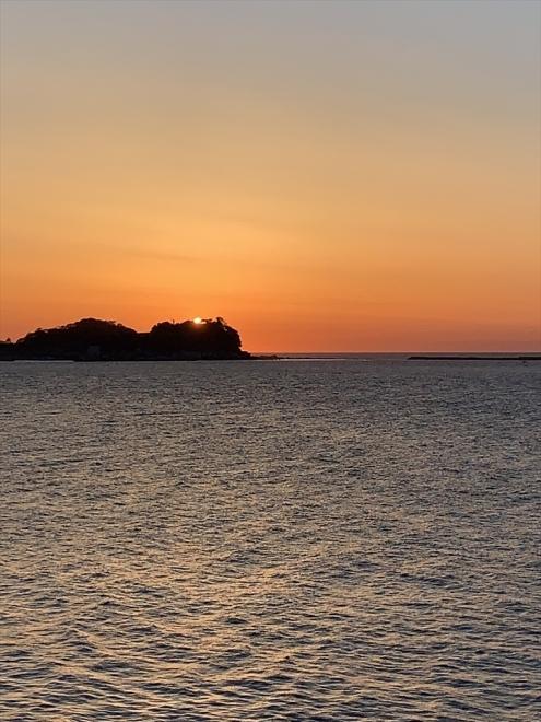 日本海の夕日を撮影にもいけます