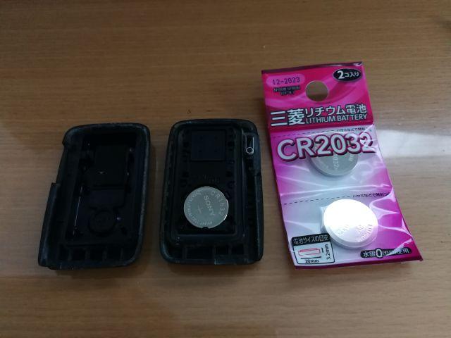 ダイソー CR2032