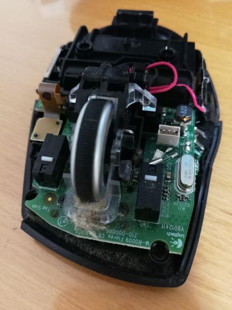 M705t チャタリング 分解&修理