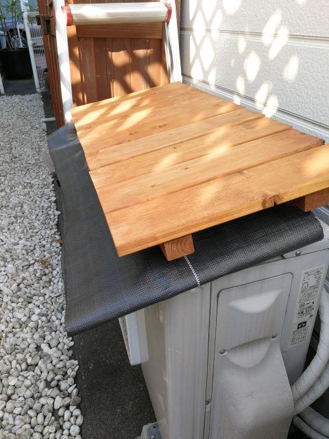 エアコン 屋根