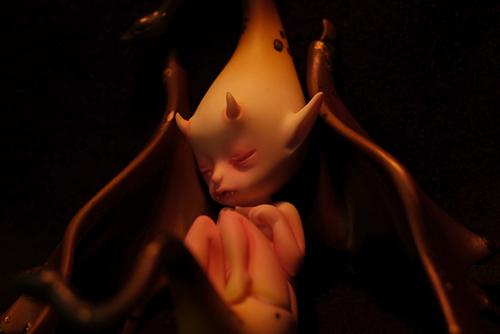 DOLLchateau・William AのRêve。月明かりのように、暖かな灯りに照らされて、眠っている。