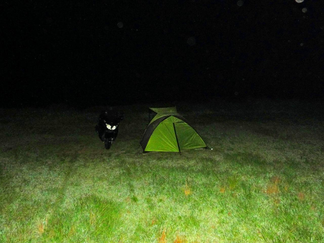 ちょっとキャンプに行ってきた。(小船キャンプ場)