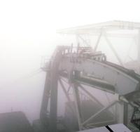 今日も濃霧