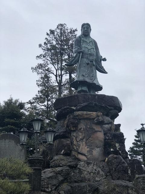 1649-兼六園:日本武尊の像