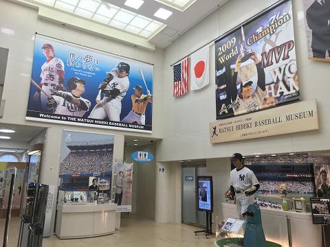 1660-松井秀喜:ベースボールミュージアム内観