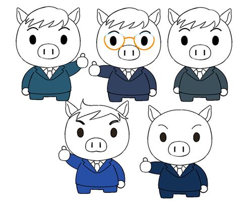 子豚デザイン