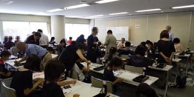 夏休み毛筆体験教室