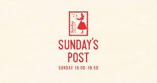 日本郵便提供 sundays post
